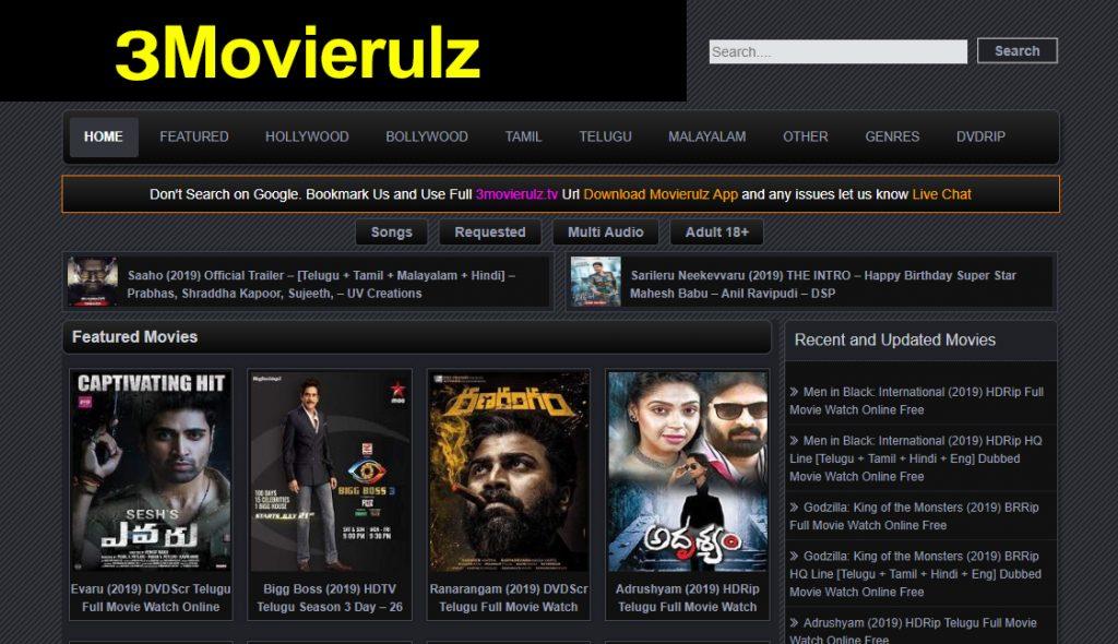 Movierulz Download Latest HD Telugu Movies