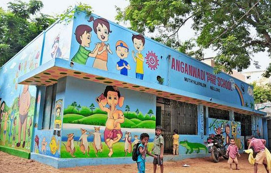 anganwadi school