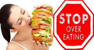 how to stop over eating
