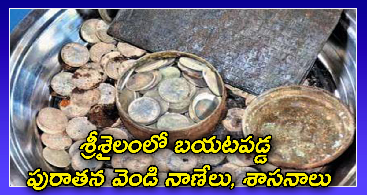 Silver Coins in srisailam
