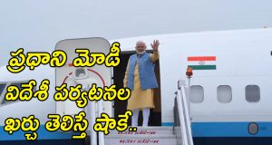 PM Visiting Nations Cost