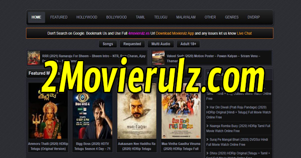 2 movierulz telugu movies free download website 2020